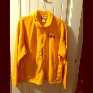 Brand new Columbia Fleece LSU jacket